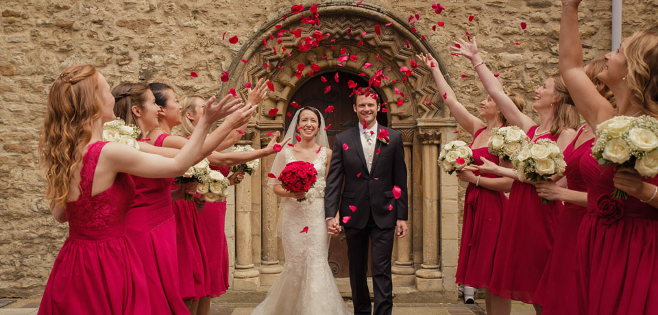 oxford confetti - Exquisite Wedding Photography