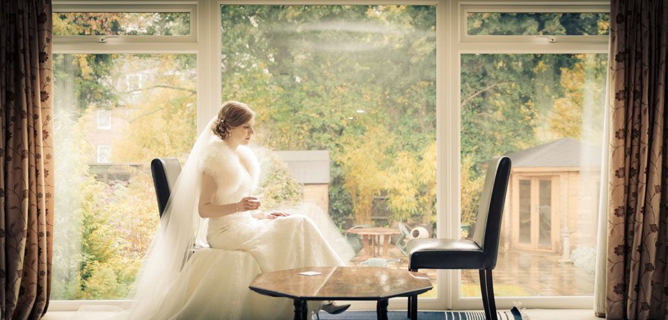 vettriano vintage bride surrey - Exquisite Wedding Photography