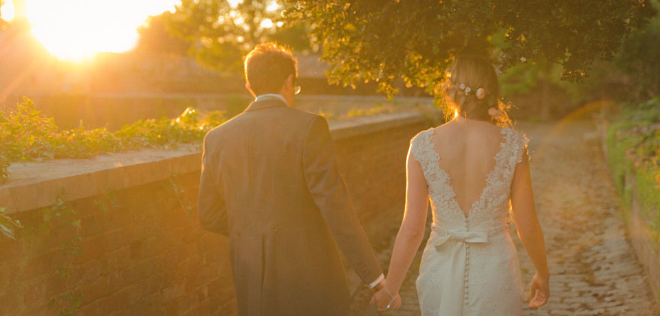 Couple, sunset walk exeter - Wedding Photography
