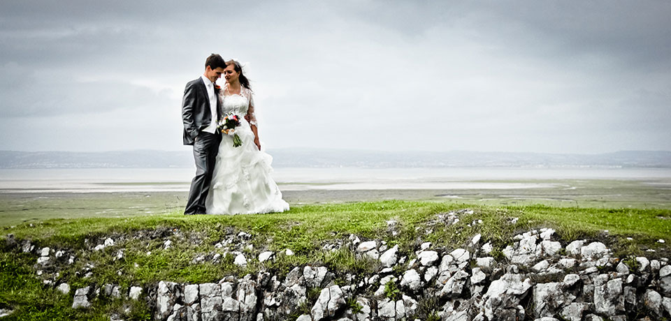 swansea seaside landscape wedding photography castle
